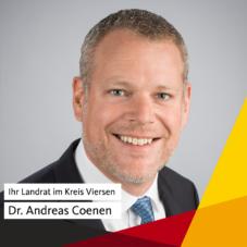 Ihr Landrat im Kreis Viersen: Dr. Andreas Coenen